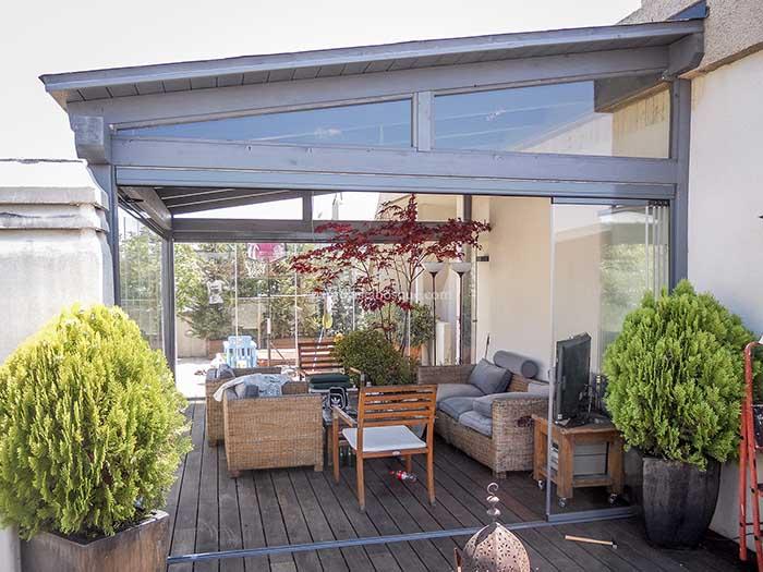 cortinas de cristal cerramientos de terraza cerramientos de aluminio un abanico de prestaciones con un estilo muy especial y funcional - Terrazas Cerradas