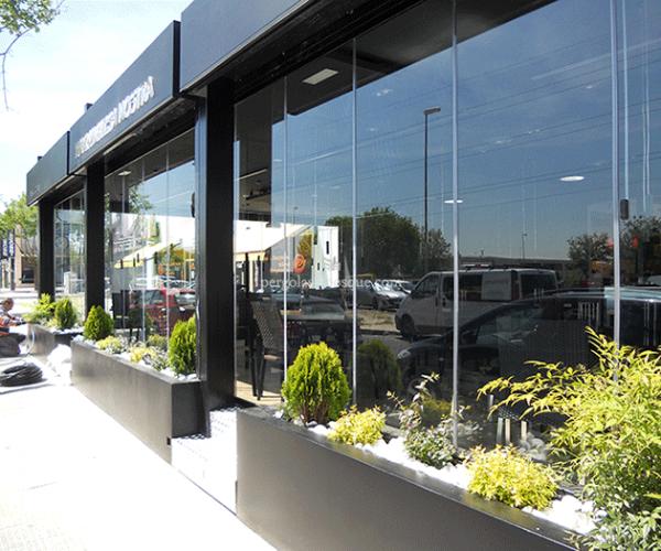 Estructuras de aluminio para terrazas elegant silln - Estructuras de aluminio para terrazas ...