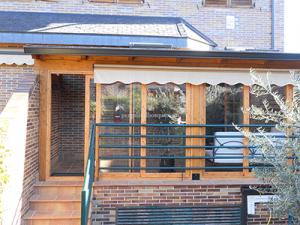 cerramiento de puertas correderas de cristal para terraza
