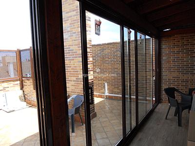 terraza cerrada acristalada